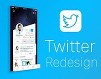 Twitter redesign - Mobile App