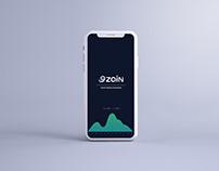 Investment strategy zain Dashboard | UI/UX