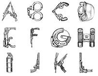 Alfabellicose / Hand Illustrated Concept Alphabet