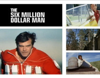 Six Million Dollar Man DVD Collection (2-Telly Winner)