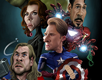Movie and TV Caricatures