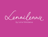 Lennilennie / fashion logo