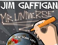 """Jim Gaffigan """"Mr. Universe"""" Poster"""