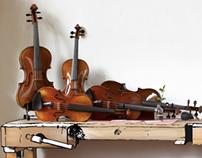 Geigenbauatelier Augsburg (luthier - corporate design)
