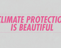 CLIMATE PROTECTION IS BEAUTIFUL