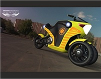Emergency Motorcycle Concept