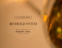 Beverage & Food Brand Identity