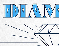 Shine On You Crazy Diamond | Typographic Letterpress