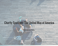 Charity Spotlight: The United Way of America