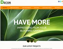 Landscape Design Joomla Template