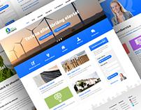 Power company web design