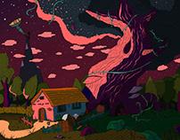 illustration «LIVING TREE»