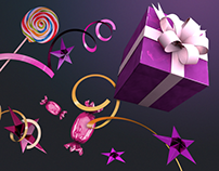 Promo page on Giftmaker