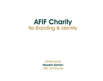 Afif Charity Re-Branding