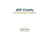 Afif Charity Re-Branding