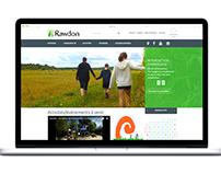 Municipalité de Rawdon - design site web
