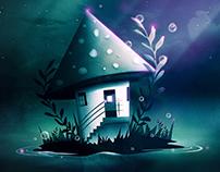 Magic Mush Room | Digital Art