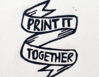 Print It Together - printmaking workshop