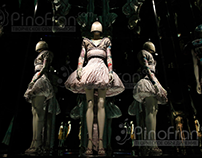 "Alexander #McQueen's exhibition ""Attack on Beauty"""