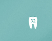 32 Whity: dental business cards