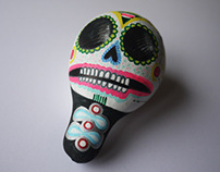 Funny skulls / funny colocynths
