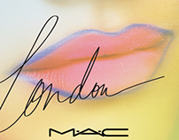 M·A·C Cosmetics: Fashion Week Banners