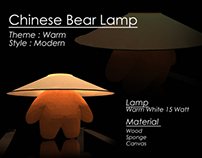 Chinese Bear Lamp