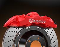Brembo GT — CAD modeling