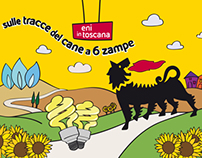 Eni in toscana: Sulle tracce del cane a 6 zampe