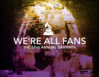 THE GRAMMYS - WE'RE ALL FANS