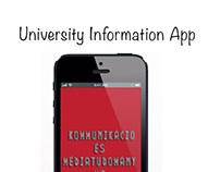 University Information App