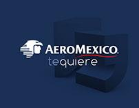 Aeromexico te quiere endomarketing campaign