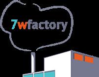 7wfactory Logo Design