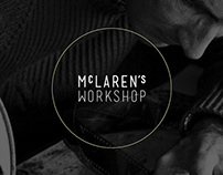 McLaren's Workshop app