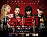 2NE1 Design Promotion Print Ad