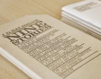9 stories J.D. Salinger for reading in public transport
