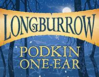 Longburrow series by Kieran Larwood