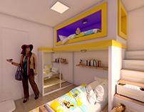 Apto Morumbi - 3D Max Project