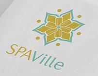 Identidade Visual para SPA Ville