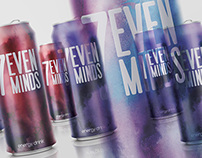 7even minds /identity and packaging