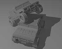 Hummer H1 Modeling