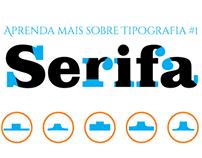 Aprenda mais sobre Tipografia 1 - Serif Infographic