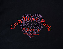 Club Privé Paris / Embroidery