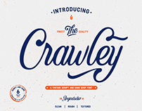 The Crawley Script Font (FREE Demo Version)