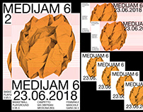 Medijam 6 - Visual Identity - Playground event - Sport