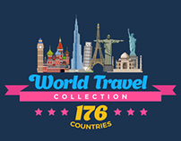 World Travel Countries Collection