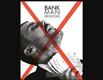 Bankman, short film poster London Greek Film Festival