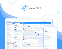 acm.chat - web and mobile business messenger app