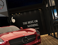 Mercedes Summer Booth