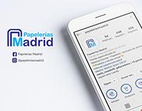 RRSS - Papelerías Madrid
